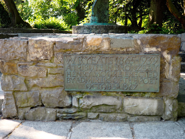 W.B. Yeats memorial, Dublin, Ireland