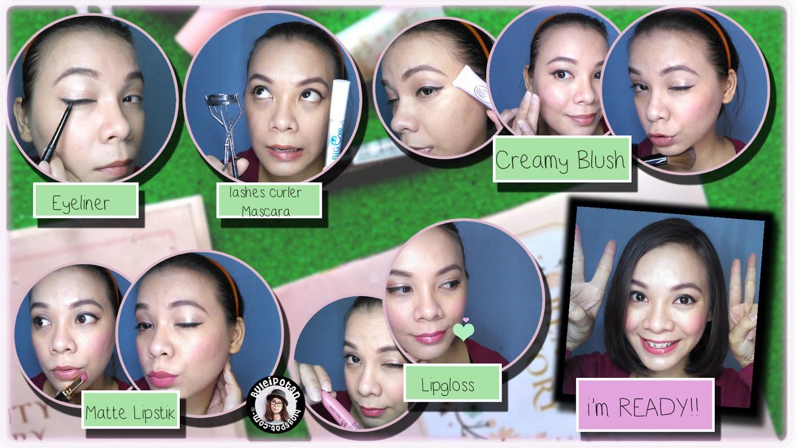 MOTD : Makeup Anak Kuliahan [Lokal + Drugstore Product