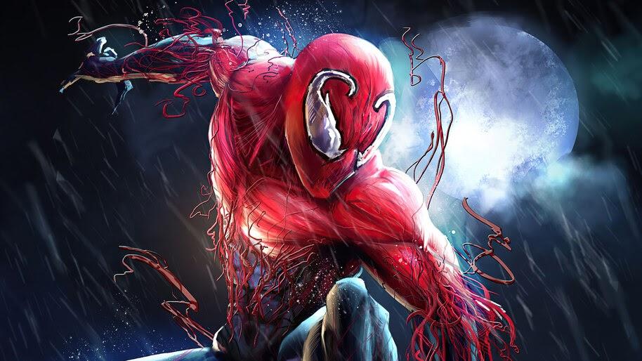 Spider-Man, Toxin, Symbiote, Costume, 4K, #6.2163