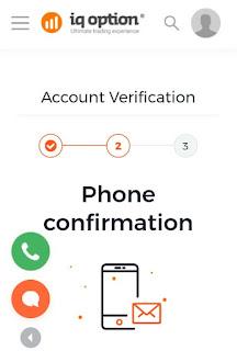 how to delete iq option account