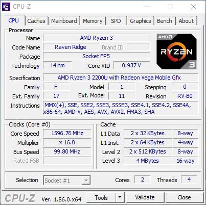 prosesor hp 14-cm006au