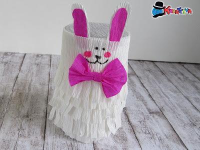 come realizzare un Coniglietto Pignatta