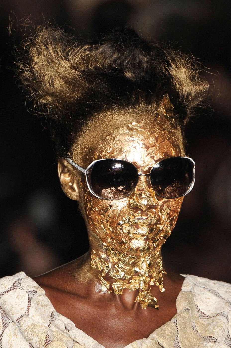 The Bijoux Editrix Gold Visage