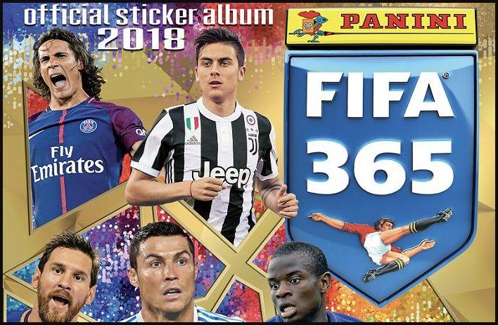 E' uscita in edicola la raccolta di figurine Panini FIFA 365 | Calcio da collezione