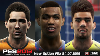 PES 2013 Option File Summer Transfers 24-07-2018