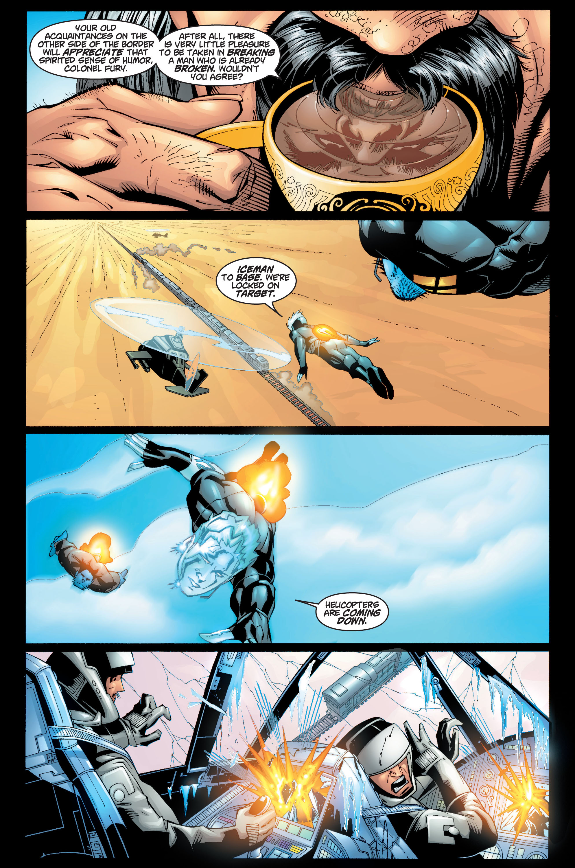Read online Ultimate X-Men comic -  Issue #10 - 6
