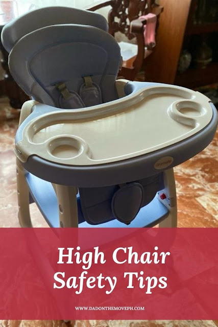 High chair safety tips