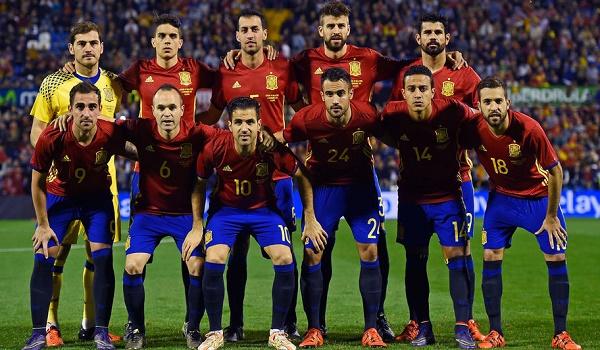 skuad tim nasional spanyol piala euro 2016