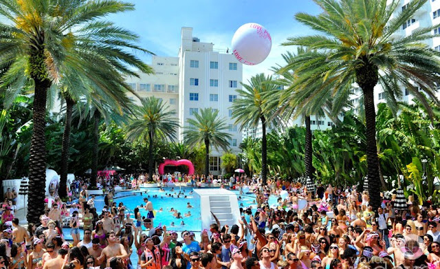 Como são as Pool Parties em Miami