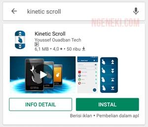 Cara Scroll Otomatis Layar HP Android Tanpa Root