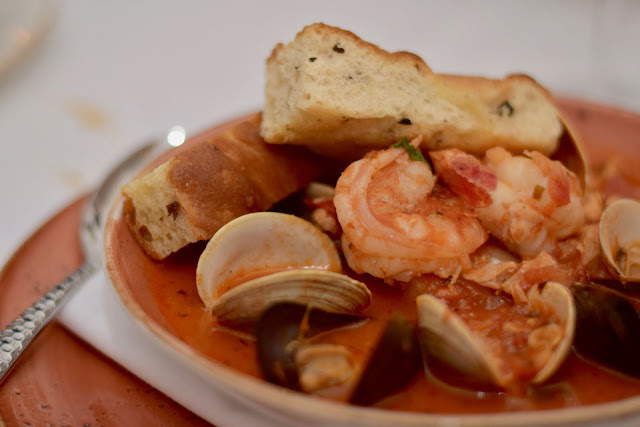 Shrimp and Clam Dish