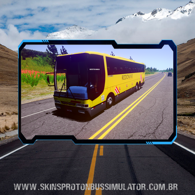 Skin Proton Bus Simulator Road - Busscar Vissta Buss MB O-400RSD 6X2 Viação Itapemirim Rodonave