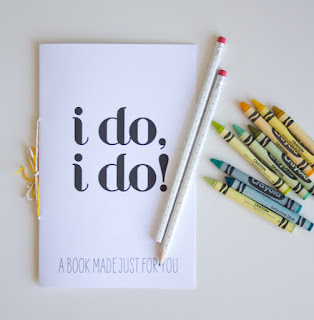 Free Printable Activity Book for Kids in a Wedding.