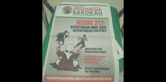 BPN akan Tindaklanjuti Kebenaran Tabloid Indonesia Barokah yang Menfitnah Prabowo-Sandi