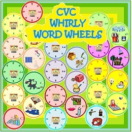 5 letter words ending in ny nyla s crafty teaching using a word wheel for phonics 16481