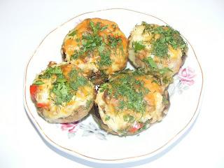 Ciuperci umplute retete culinare,