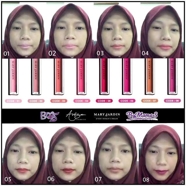 MJAC Lip Matte Color Review | Mary Jardin Kelana Jaya Selangor - Laviee