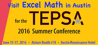 Visit Excel Math in Austin for TEPSA