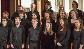 Choir of Merton College in 2016 (Photo John Cairns)