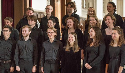 Choir of Merton College in 2016 (Photo John Cairns)