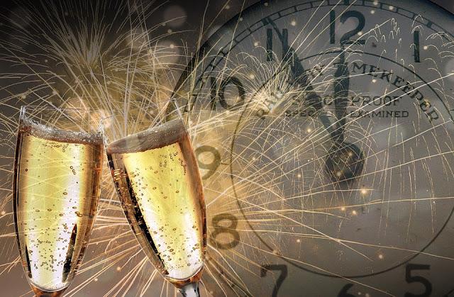 oudejaarsavond 2019 new year's day jaarwisseling