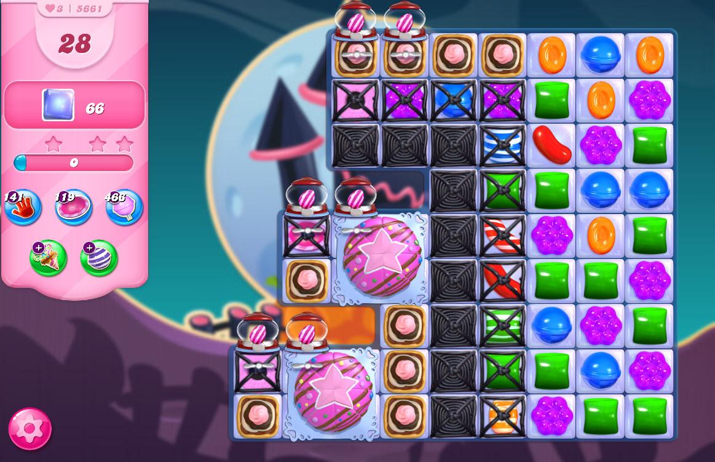 Candy Crush Saga level 5661