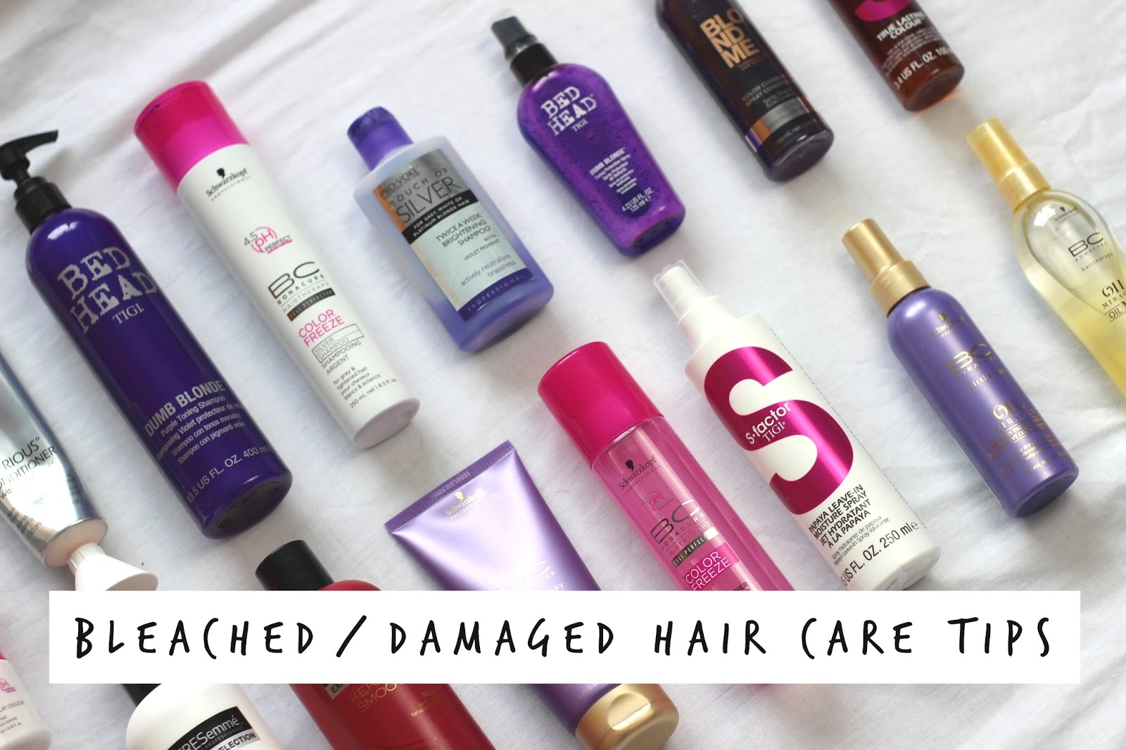 How To Repair Bleached Damaged Dry Hair