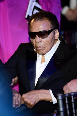 muhammad ali died at age 74. a great fighter boxer