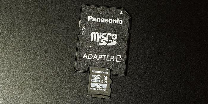 パナソニックmicroSDカード「RP-SMGB32GJK」を使うべき理由とメリット