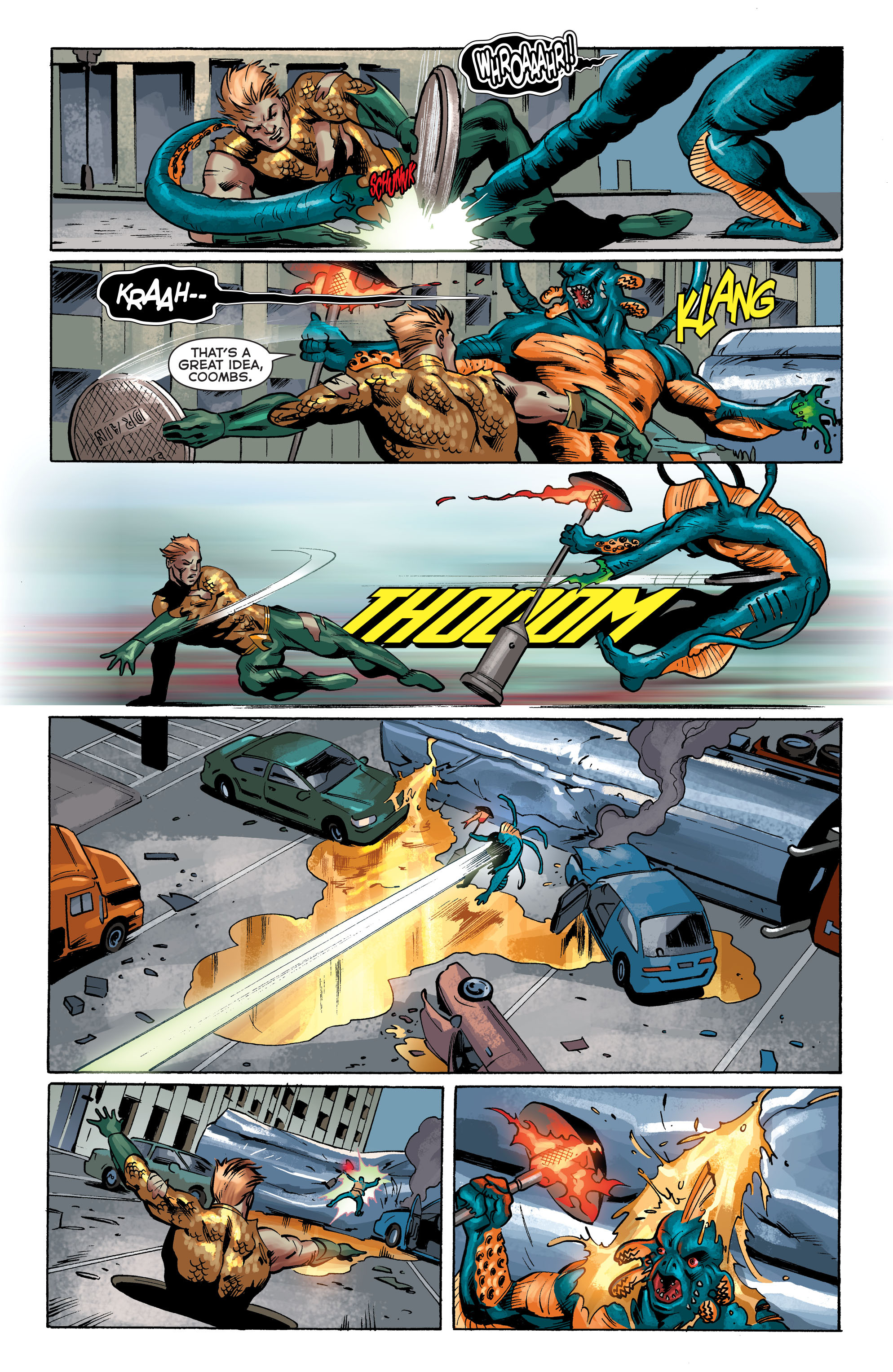 Read online Aquaman (2011) comic -  Issue #34 - 17