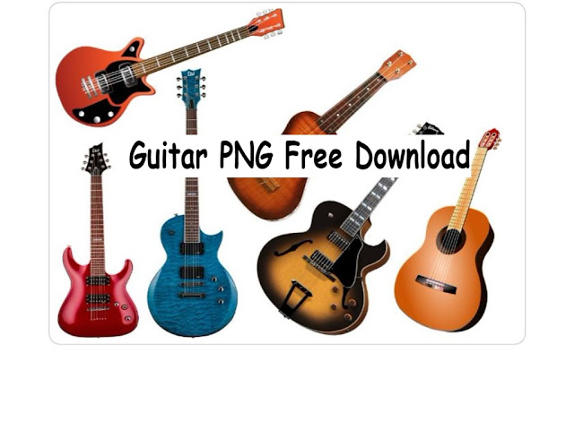 Guitar PNG Free Download For Editing Edits4u.com