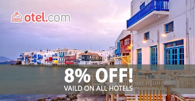 Otel .com 暑假【92折優惠碼】連鎖酒店都用得,有效至2016年8月18日。