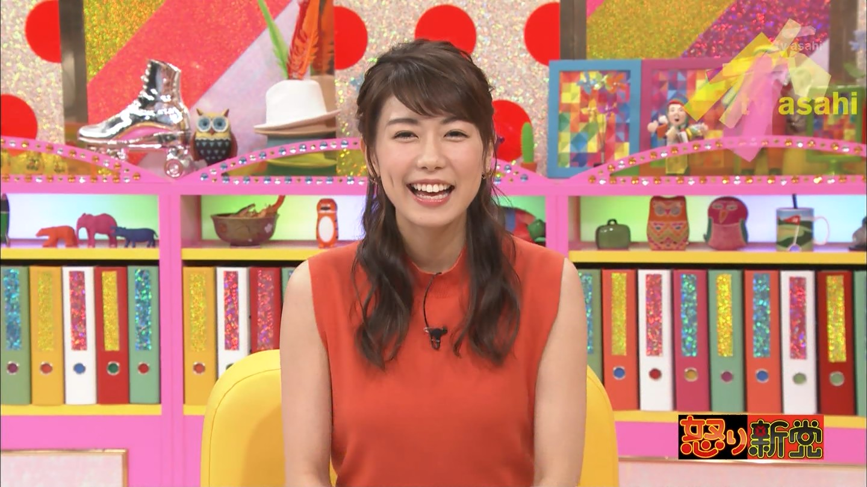 「テレビ朝日の青山愛アナ