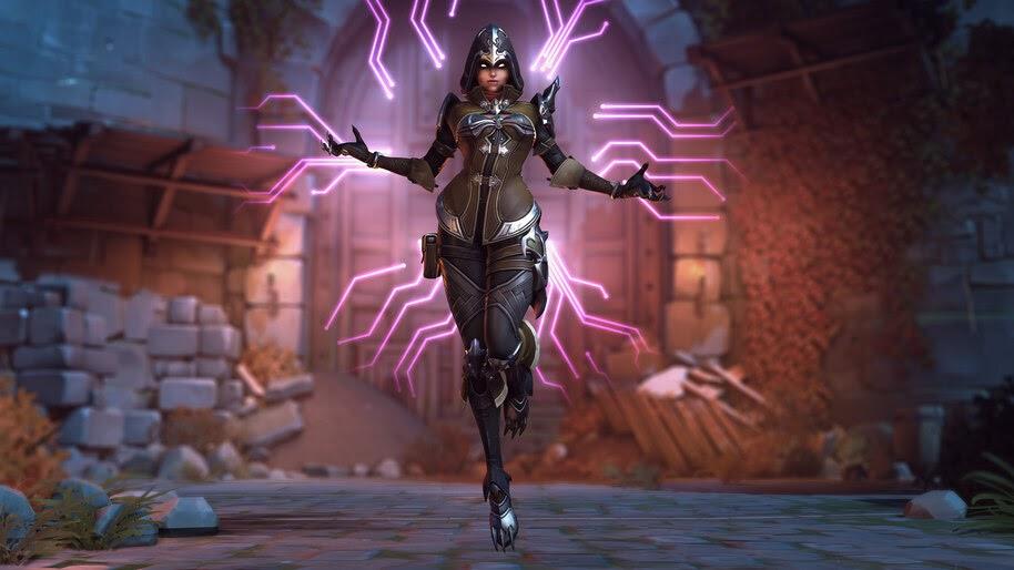 Sombra, Demon Hunter, Overwatch, Halloween, Terror, Skin, 4K, #5.1237
