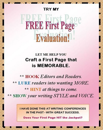 FREE First Page Evaluation