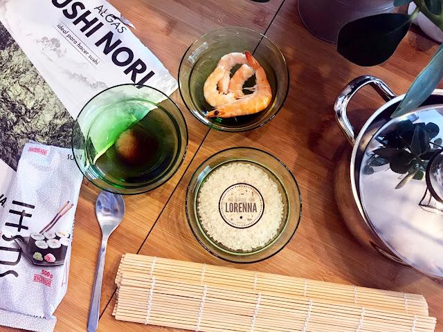 Cómo preparar sushi casero