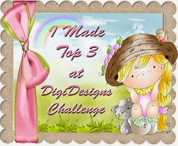 Top 3 at Di's Digi Challenge 2nd Jan'
