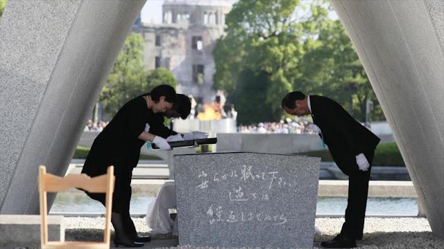 Hiroshima recuerda 72 años de la bomba atómica lanzada por EEUU