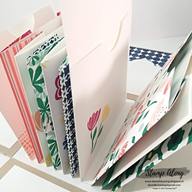 Stampin' Up! Explosions box lovely stampers teamweekend