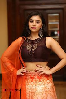 Actress Priyanka Pictures in Half Saree at Apartment Movie Audio Launch  0048.JPG