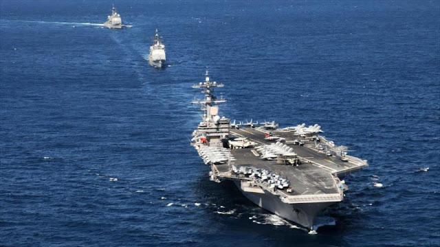 CNN: EEUU arma sus aviones y buques de guerra para atacar a Siria