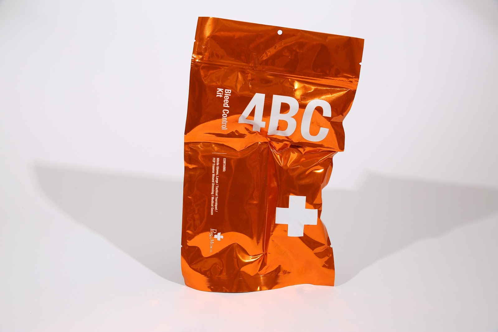 4 Bleeding Control Kit on Packaging of the World