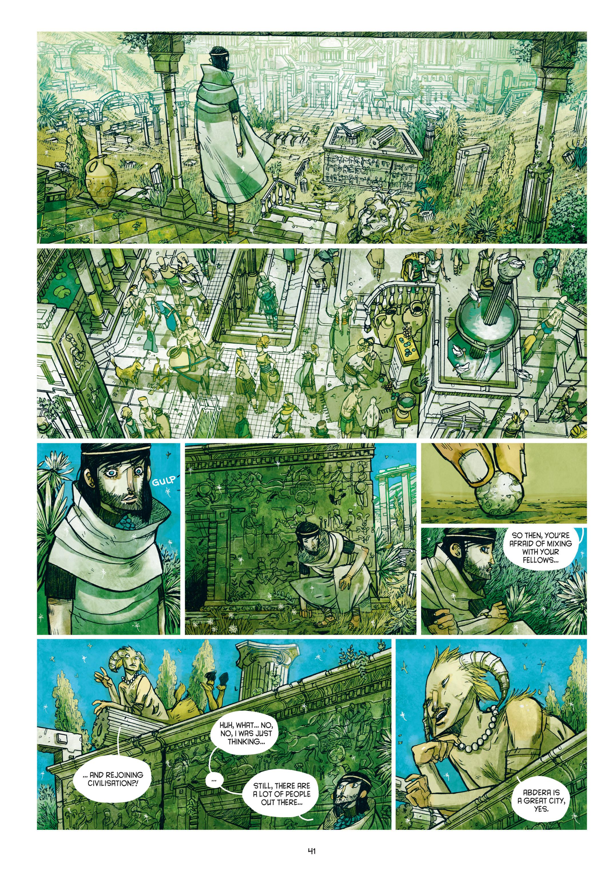 Read online Adrastée comic -  Issue #1 - 42