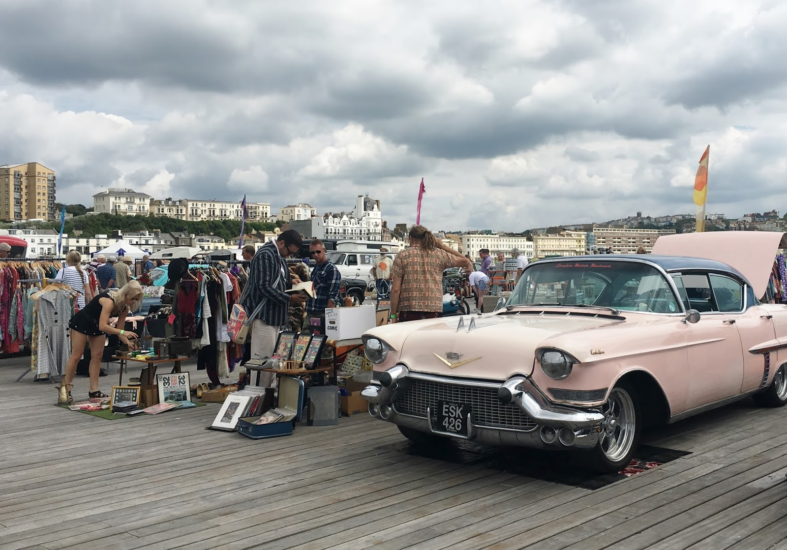 Pirates... and two car boots - Classic Cars on Hastings Pier and Elm ...