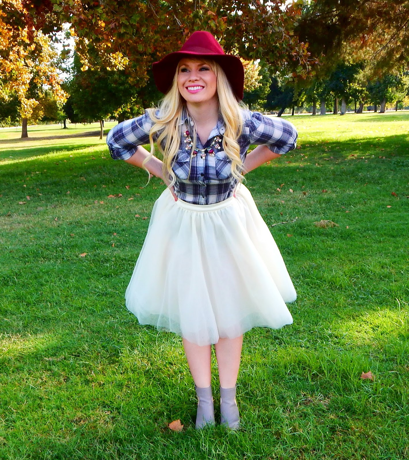 Plaid and Tulle & Friday Favorites Link Up
