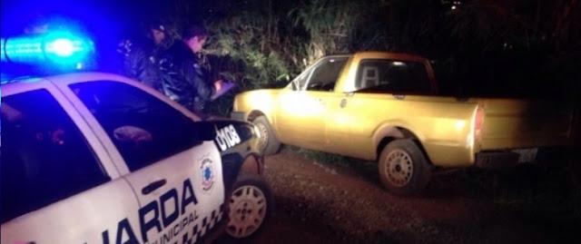 Guarda Municipal de São Miguel do Iguaçu (PR) localiza veículo furtado em Medianeira