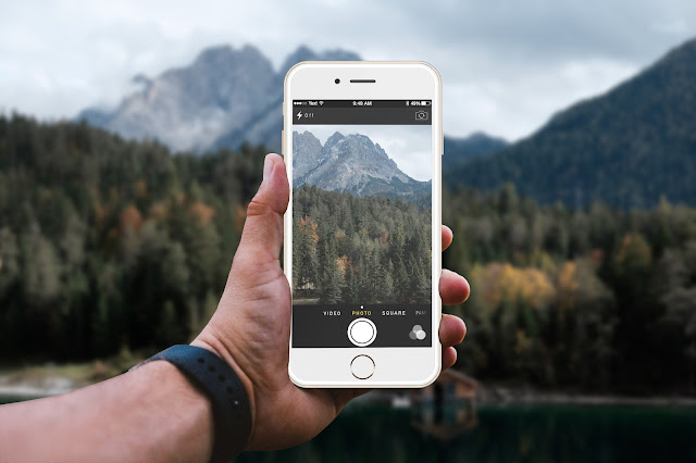 iPhone 7 Camera Mockups EnvatoMarket