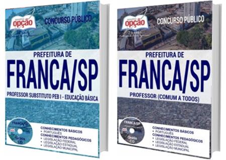 Apostila Concurso Prefeitura de Franca SP 2017 Professor
