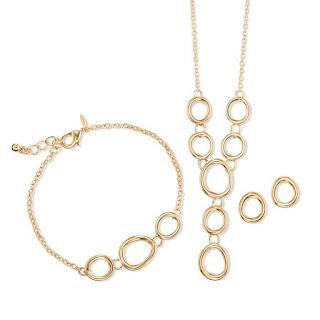 Avon Athena Goddess 3 piece gift set in goldtone