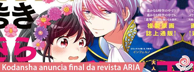 Kodansha anuncia final da revista ARIA